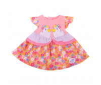 Платье для куклы Zapf Creation Baby Born Цветочки 824-559