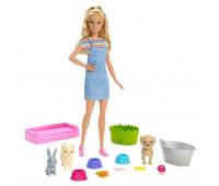 Набор игровой Barbie и домашние питомцы FXH11
