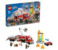 Конструктор LEGO City Fire Команда пожарных 60282