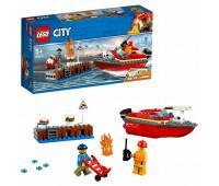 Конструктор LEGO City Fire Пожар в порту 60213