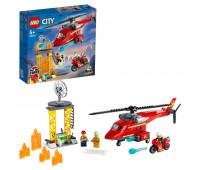 Конструктор LEGO City Fire Спасательный пожарный вертолёт 60281