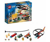 Конструктор LEGO City Fire Пожарный спасательный вертолет 60248