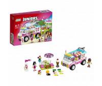 Конструктор LEGO Juniors Грузовик с мороженым Эммы (10727)