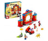 Конструктор LEGO Mickey and Friends Пожарная часть и машина Микки и его друзей 10776