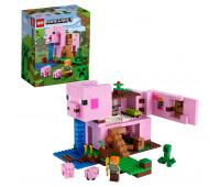 Конструктор LEGO Minecraft Дом-свинья 21170