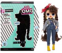 Кукла LOL Surprise OMG Busy B.B. + 30 сюрпризов (2 серия)