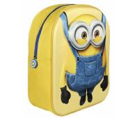 Рюкзак Миньон с 3D эффектом (малый) для дошкольников